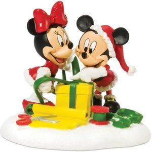 Department 56 Disney Mickey and Minnie Wrapping